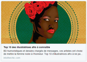 Top 10 des illustratrices afro à connaîre, sur Into The Chic